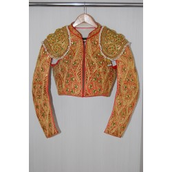 Red and gold Picador second hand jacket