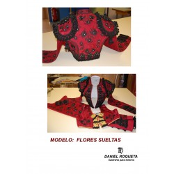 "Model ""Flores Sueltas"" bullfighter costume"