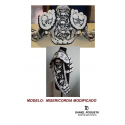 "Model""Misericordia modificado"" bullfighter costume"