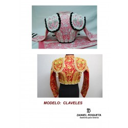"Model ""Claveles"" bullfighter costume"