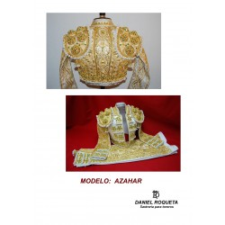 "Bullfighter model ""Azahar"" costume"