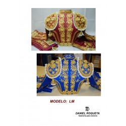"Model ""LM""bullfighter costume"