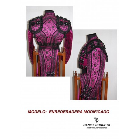 "Traje de luces modelo ""Enredadera modificado"""