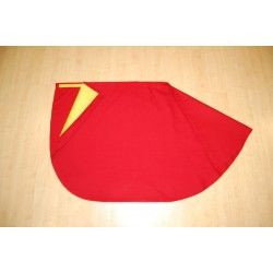 Bullfighter red cape