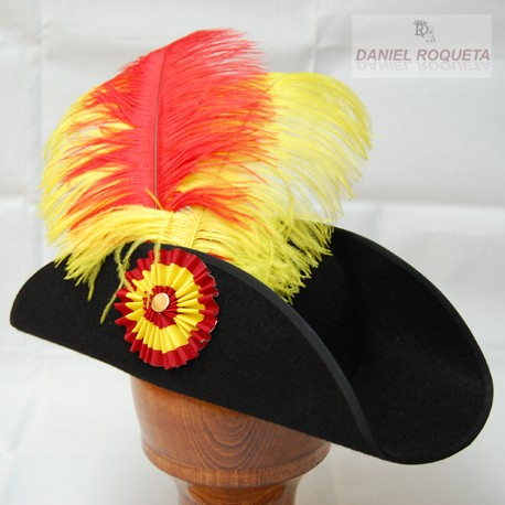 Mounted official hat